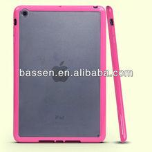 plastic tpu case for ipad mini back cover