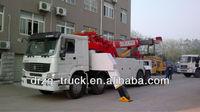 sinotruk towing truck 50 ton