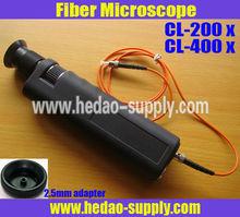 400x Fiber Optical Inspection Microscope pluosto mikroskopas