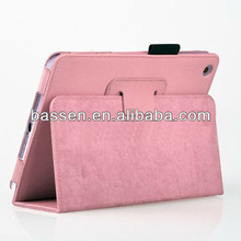 for ipad mini stand leather cover