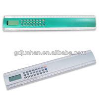 JH5018 desktop 8 digital electronic power ruler calculator with digital clock