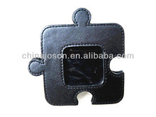 promotional gifts standing black leather pictures frame wholesale