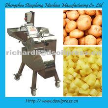 High-efficiency potato dicing/dicer machine/vegetable dicing machine