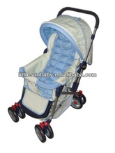 Off-white Graco Style Baby Stroller Model K2059 Cotton Fabric