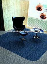 SYRH1 50X50cm Loop Pile Tufted PP Carpet Tile Bitumen Back