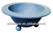 cast iron or ductile iron flowerpot