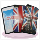 Plastic with silicon design doble protector for Blackberry Z10 accept paypal
