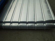 Decorative aluminum Roofing Color Curved Corrugated Sheet for interlock