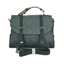 guangzhou wool felt bag handbag ladies bag