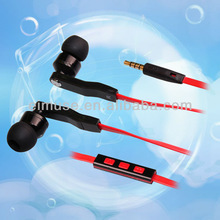 i4 For Apple iPhone 5 Earphone Headset with Mic, Cell Phone Earphone