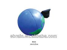 fashion globe earth yoyo ball for kids,custom goft ball with logo printing