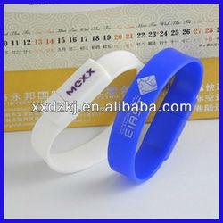 Custom Promotional Silicone Bracelet USB flash Memory Drives