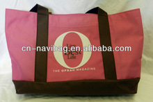 China professional bag factory extra large durable women beach tote bag(NV-T046)