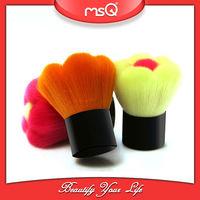 MSQ colorful flower kabuki face brush