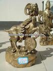 Home decoration metal animal goat sculpture