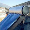 a presión calentador de agua solar del sistema
