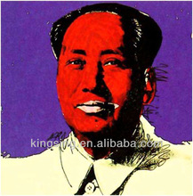 Newly Designed Famous Star Oil Painting--Chairman Mao