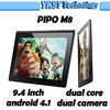 "9.4"" PIPO M8 tablet RK3066 1GB/16GB capacitive touch screen USB 3G wifi HDMI Dual Camera Android 4.1 PIPO Tablet"