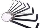 Simple inner hexagon spanner/hardware tools household wrench set
