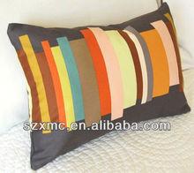 hot sale fashion design cushion 100% cotton knit pillow case