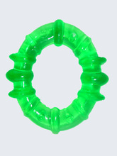 Ring shape EVA water filled teether ,jelly filled teether