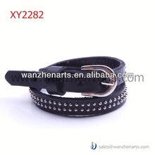 cinturinoin pelle bracciali con xy2282j borchie