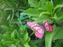Solar powered flying wobble fluttering butterfly&dragonfly amazing solar butterfly fluttering solar battery powered butterfly