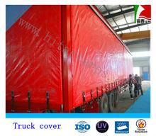 Vinyl coated pvc tarpaulin for truck cover