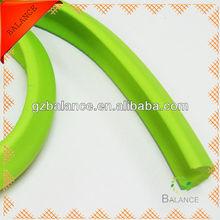 Plastic edge corner trim