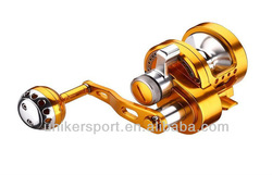 2013new fishing reel golden Aluminum spool Spinning original reel