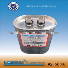 oil capacitor cbb65 sh air compressor capacitor 55+5uf 450v