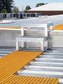 Fibra de vidro ralar passarela, a plataforma do telhado passarela
