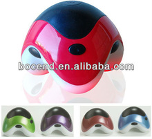 2013 new mini handheld electric vibrating small massager with LED light best promotion gifts