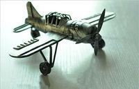 metal models military/metal antique airplane model/antique plane model metal decorations