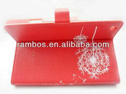 Fashion Belt Dandelion Fold case for iPad mini