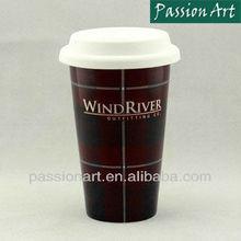 Hot Sale Ceramic Coffee Travel Mug