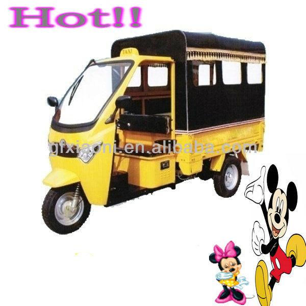 three wheel motorcycle rickshaw tricycle