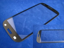 Front Glass Lens (no LCD touch screen) for Samsung Galaxy S3 III GT-i9300 Blue