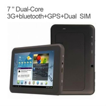 7 inch tab tablet pc android with dual sim card slot FM Transmitter MT3