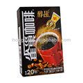 Café soluble en la bolsa de envasado/de café de papel caja de embalaje/nescafe caja de embalaje