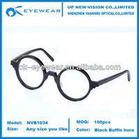 crazy eyes glasses frame round gel eyeglasses