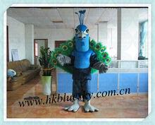 2013 Custom peacock mascot costume
