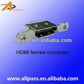 hdmi 19 pin conector de smt de apoyo deinternet