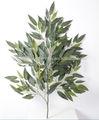 artificial decorativa grande mango tree folhas