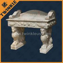 stone antique pedestal carved basin