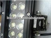Headlight driving light CS Rally black stainless steel 60w