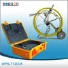 Pipe borescope inspection camera monitor