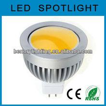 4W LED Bulb MR16 COB 12V, Aluminum good heat dissipation
