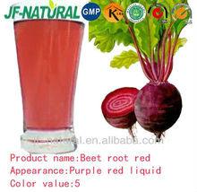 Beet root red liquid natural color
