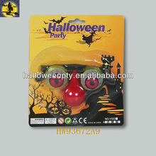 Horror Shock Pop Eyes Glasses with Nose for Halloween